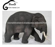 de madera tallada elefante procedentes de tailandia