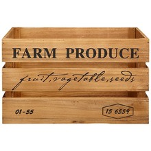 2014 New Designed Wholesale Natural Unfinishd Cheap Wooden Fruit Crates For Sale