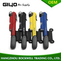 Colourful, mini Portable Multi-function High-pressure Vertical Aluminum Alloy Bicycle Pump