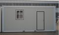 Casa do recipiente pré-fabricado, Recipiente uso doméstico como sala de estar, Apartamento