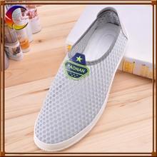 El último diseño de malla suela de caucho superior barato marca de calzado deportivo