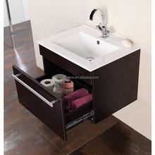 german style wall hung cheap antique waterproof wood bathroom vanity cabinet