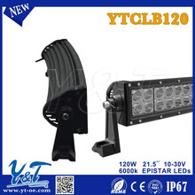 Aliu firm mounting brackets 120w 21.5inch LED curved Light Bar SUV Offroad