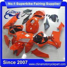 FFKHD008 China Fairings Motorcycle For CBR600RR 2005 2006 Orange And Black Skull