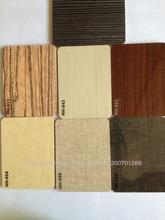 Alta resistencia a los arañazos brillante del grano de madera de revestimiento UV Junta MDF para gabinete de cocina tablón puert