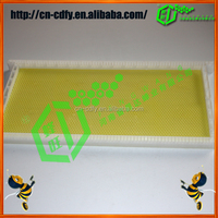 Plastic Bee Frames With Comb Foundation Sheet