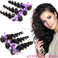 Top Grade 7A High Quality Virgin Brazilian Hair Loose Wave 8 Inch 3Pcs Lot Hair Weave For Sale Online In Usa