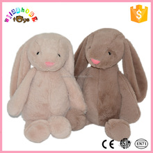 2016 Cute famous plush and stuffed toy lovely black rabbit in china OEM