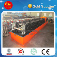 HKY new style C purlin machine, plc automatic color steel truss roll forming machine