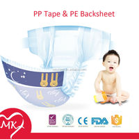 Cheap Disposable Sleepy Baby Diaper good quality low cost diapers Manufacturer in China