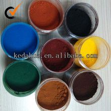 factory supply iron oxide for glass,ceramic,rubber,building material etc ceramic pigment colors