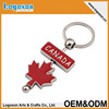 2015 high quality novelty gift items customize keychain Canada souvenir