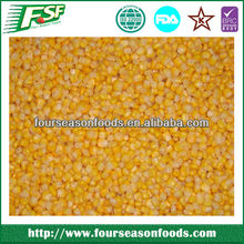 wholesale A Grade frozen/IQF sweet yellow corn kernel new crop,china frozen vegetables golden supplier