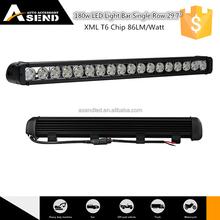 """Big promotion 180w truck led light bar 29.7 inch offroad led spot light bar super brihgt long life span bar light led 29.7"""""""