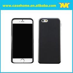 simple thin tpu back cover case for iphone 6