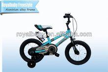 2014 royalbaby freestyle bicicletas para niños ligero de aluminio con marco de aleación y ruedas de entrenamiento