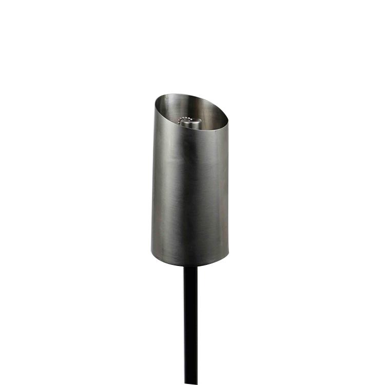 Nuevos Productos Especiales jardín decorativo de aceite de acero inoxidable antorchas tiki