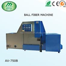 Good performance golden supplier new year promotion ball fiber filling machine