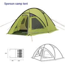 China tent camping family