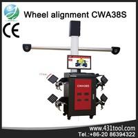 CWA38S 4-wheel aligner with free update