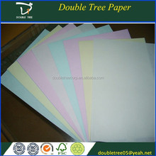 2015 Hot Sale Different Colors Carbonless Ncr Paper Manufacture