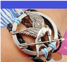 Yiwu laugh gorgeous silver jewelry Lucky Bird Hunger Games bracelets