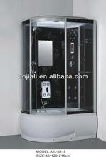 pinghu new design aluminum alloy frame steam shower room AJL-3818