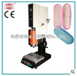 2015 best cost and excellent design ultrasonic plastic glasses case welding machine with ce