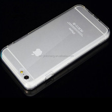 transparent crystal clear tpu mobile case for iphone 6 plus case