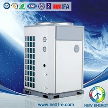 direct factory air source low temperature evi heat pump 80kw 180w/dw hot water heater