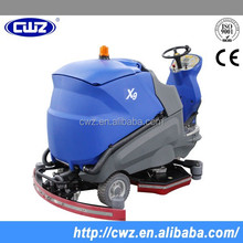 With Low Noise Dual Brushes Floor Scrubber Road Sweeper