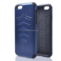 Free sample silicone case for iphone6,New Shockproof mobile phone case, For iPhone6 shield case back cover For Iphone 6 Case