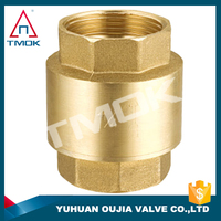 TMOK 2 inch check valve polishing cw617n material motorize and o-ring and manual power 600 wog full bore CE approved