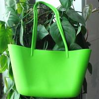 2014 hot selling fancy Ladies waterproof silicon bag