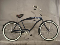 classic beach bicycle e bike cruiser kickbike beach cruiser bike 26 inch