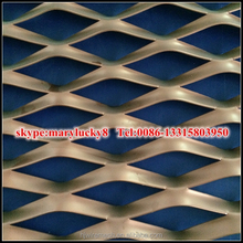 Hexagonal Hole Expanded metal mesh/Hexagonal pattern Aluminum Expanded Metal Mesh
