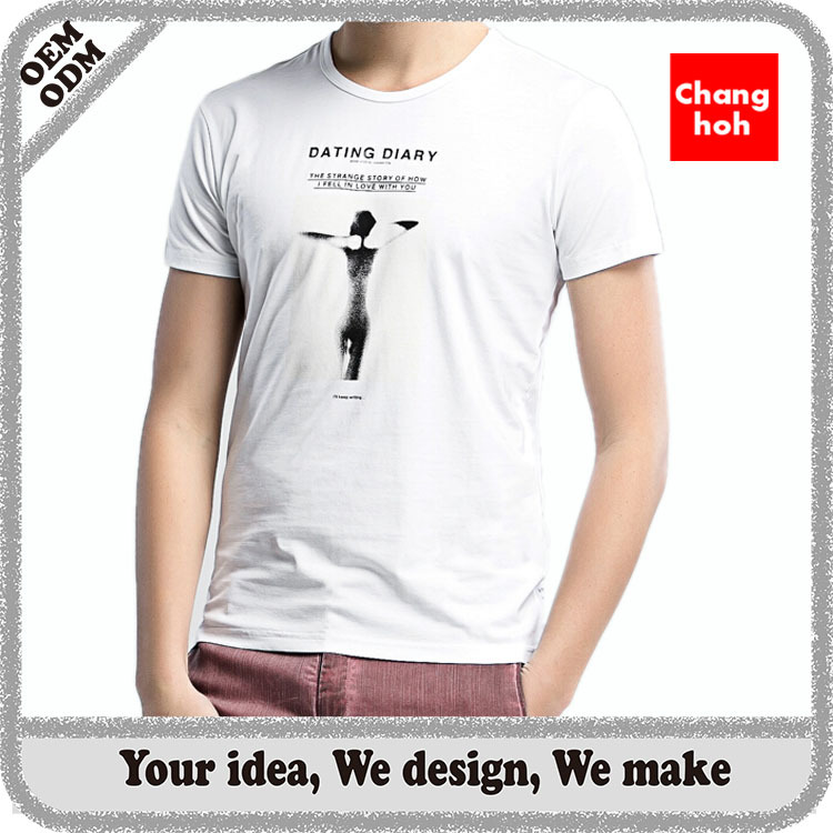 High quality custom slogan t shirt with low price buy for Custom t shirt cost