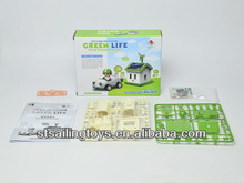 Brinquedos solares( vida verde)