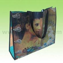 Eco-friendly PP Woven Reusable Shopping Bag With Logo