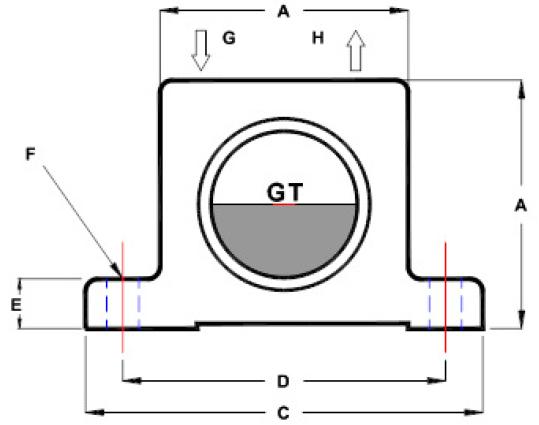 Findiva GT тип Пневматический турбины вибратор Алюминия вибратор GT16