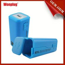 Wonplug easy carry universal 8.4v li-ion battery charger