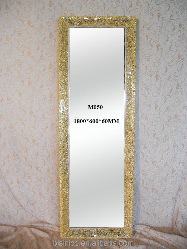 Bisini Brand Handmade Decorated Mirrors,Rectangle Crackle Design ...