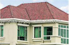 400x300x10mm/12''x16'' clay interlocking roof tile
