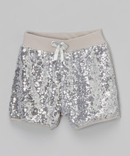 Wholesale sequin shorts lovely shiny sequin shorts for baby