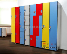 Z Shape Compact Locker for Changing Room and School