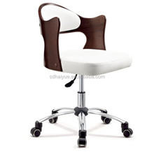 Ergonomic plywood office desk chairs for apartment, home and office