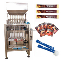 8 lanes high speed automatic coffee stick packing machine
