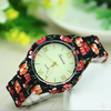 dress style fashion Small broken flower diamond face wrist watch super luxury sexy girl ladies women quartz watch