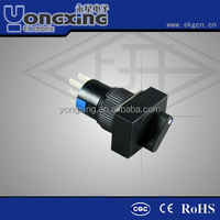 16mm standard rectangle voltmeter selector switch