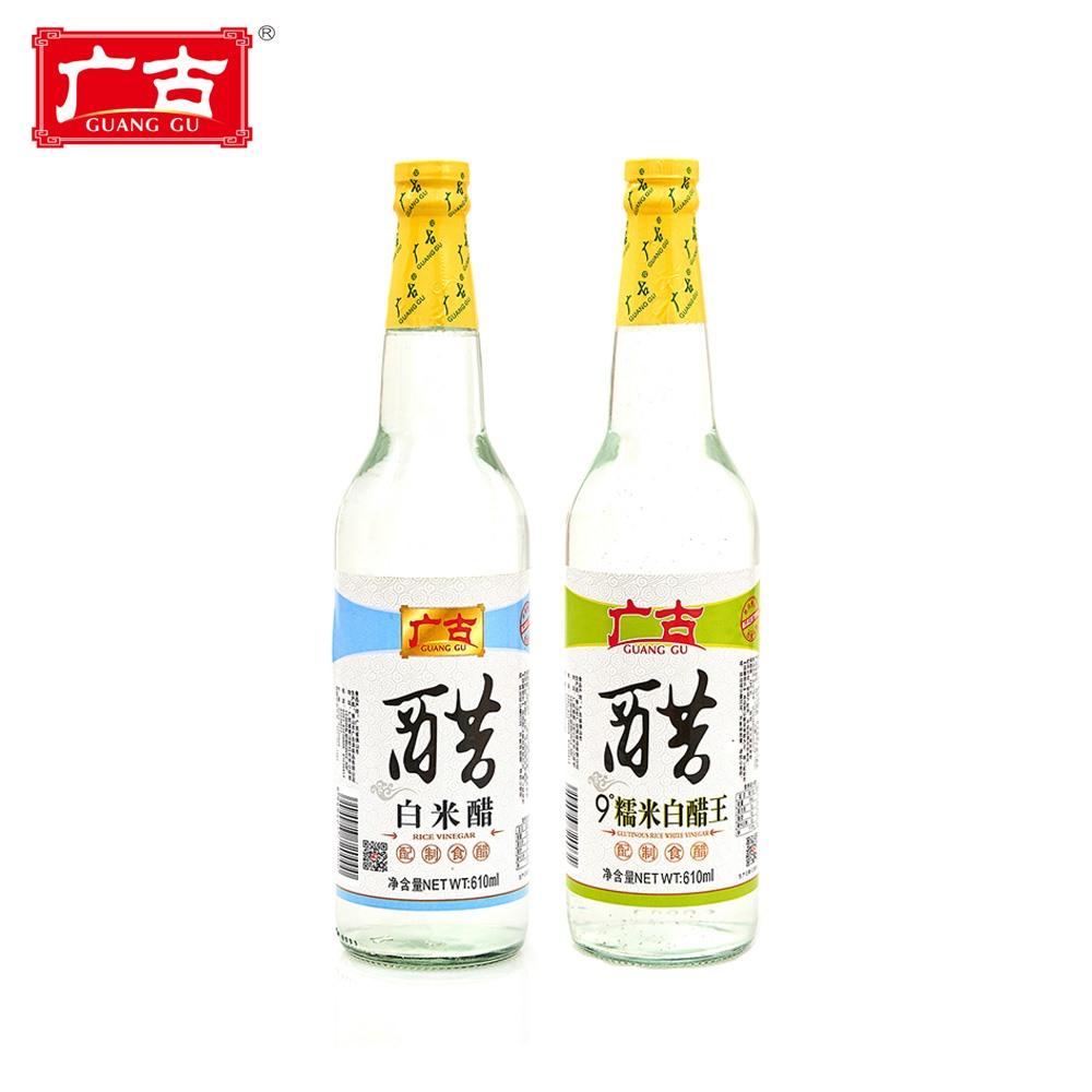 공장 아울렛 610 ml 발효 양조 흰 쌀 식초